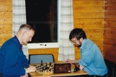 Reidar Finnset og Roger Jacobsen 9/12 91