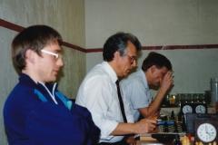Jørgen S Christiansen, Magne Bergvoll og Robert Bergersen 9/12 91