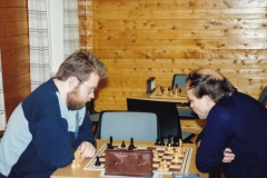 Terje Pedersen og Leonid Batrakov 9/12-91