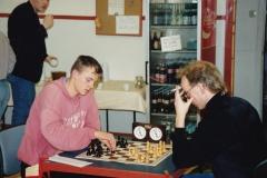 Jon Kristian Røyset, Inge W. Nilsen. Bakerst: Tron Walseth 9/12 91