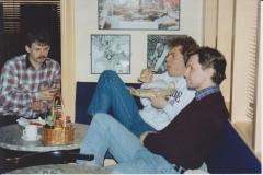 Stein Jensen, Sven Wisløff Nilssen og Jan S Berglund