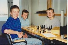 Thomas Robertsen, Jon Kristian Røyset og Pål Røyset