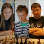 Anniken Vestby av tre sjakkess