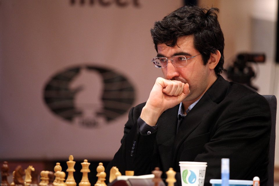Kramnik med vinst i 1. matchparti mot Andreikin