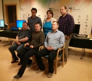 Espen Forså, Irina Turova, Maxim Turov, Trond Romsdal, Pål Røyset, Jon Kristian Røyset