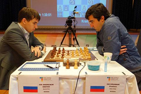 Ny remis i finalematchen mellom Andreikin og Kramnik. Dermed må Andreikin vinne med hvit i det fjerde partiet for å få forleget matchen til tiebreak