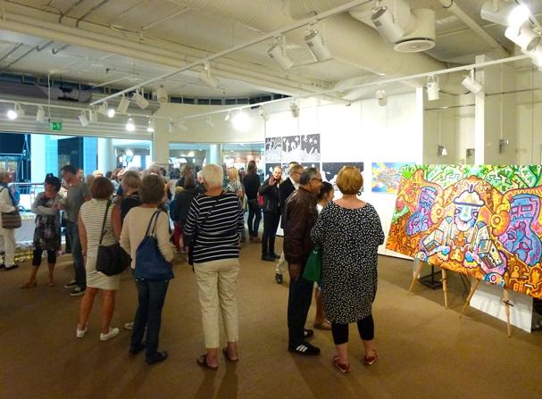 Chris Reddy's galleri på Nerstranda, 3. etasje