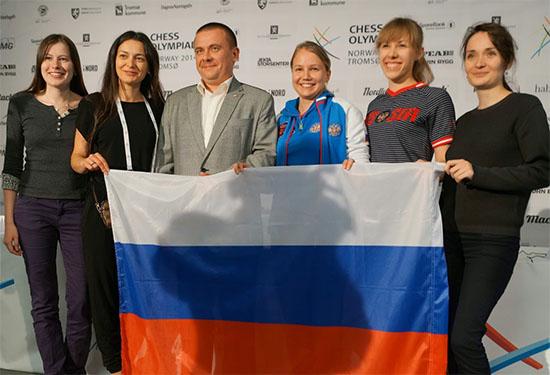 Russlands OL-vinnere i kvinneklassen