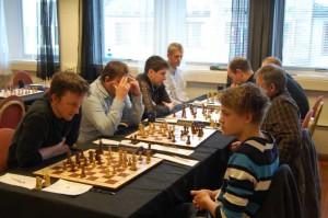 Tromsøs andrelag: Frode, Jon Kristian, Vanja og Christian